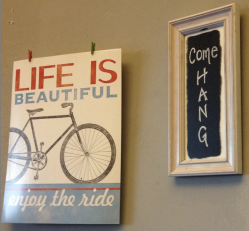 Becoming stronger at my yoga and barre studio is made easier by these uplifting signs!